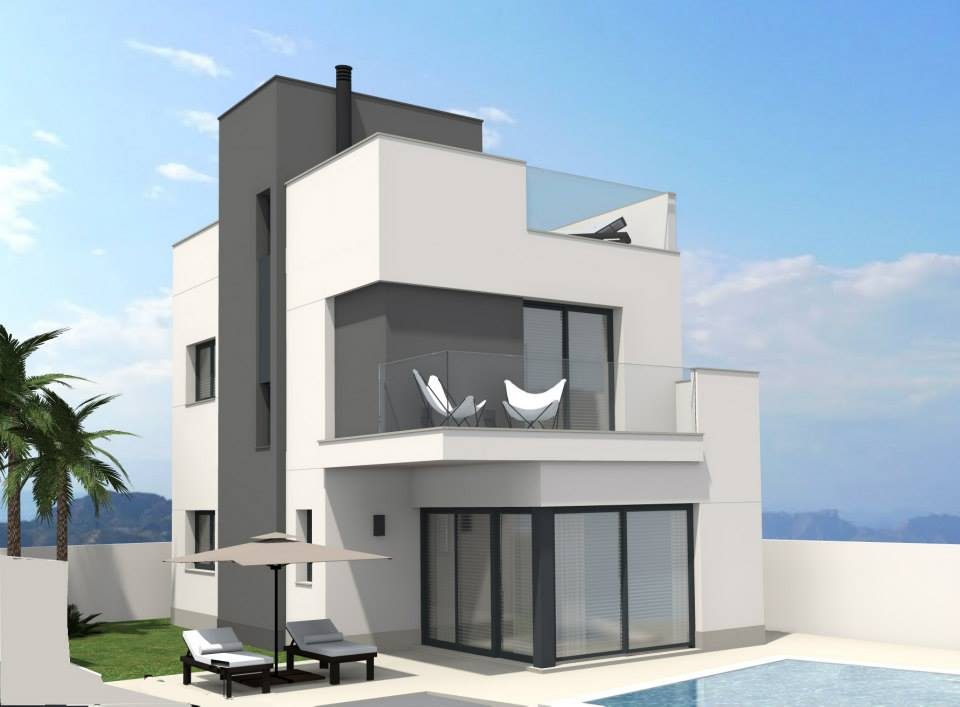 Nuevo chalet pilar de la horadada torre de la horadada - Casas en pilar dela horadada ...